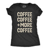 Coffee Coffee And More Coffee Women's Tshirt