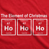 The Element Of Christmas Men's Tshirt