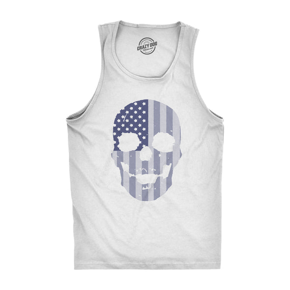 Flag Skull Men's Tank Top