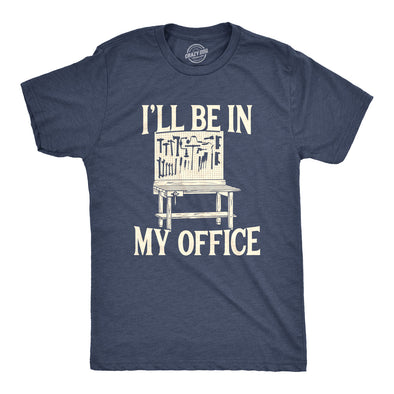 I'll Be In My Office Men's Tshirt