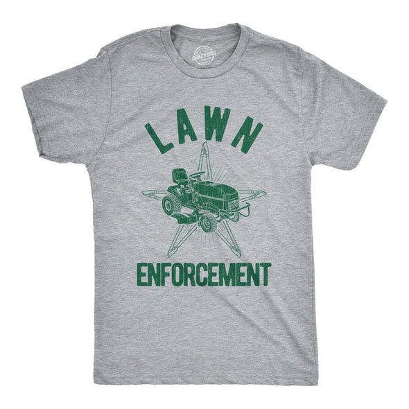 Lawn Enforcement Men's Tshirt