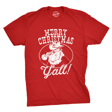 Merry Christmas Y'all Men's Tshirt