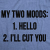 My Two Moods Men's Tshirt