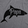 Papa Shark Men's Tshirt