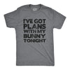 I've Got Plans With My Bunny Tonight Men's Tshirt