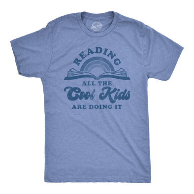 Reading: All The Cool Kids Are Doing It Men's Tshirt