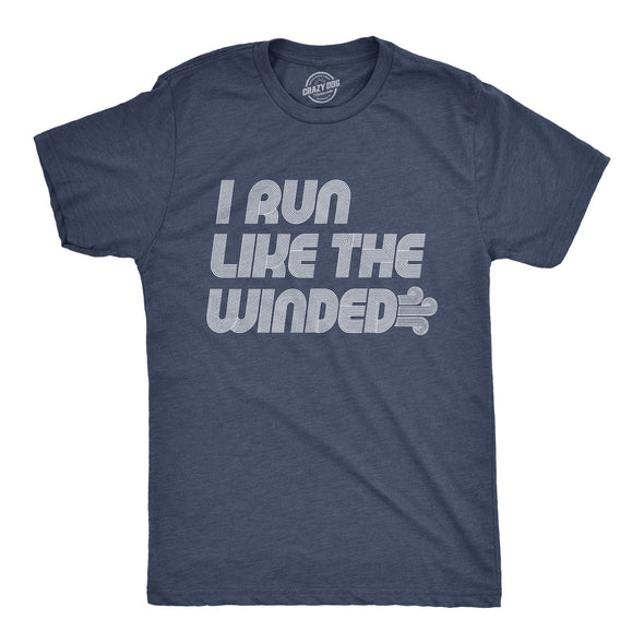 I Run Like The Winded Men's Tshirt