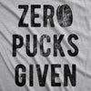 Zero Pucks Given Men's Tshirt