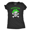 Womens Arrrish T Shirt Funny Saint Patricks Day Irish Pirate St Patty Humor Tee