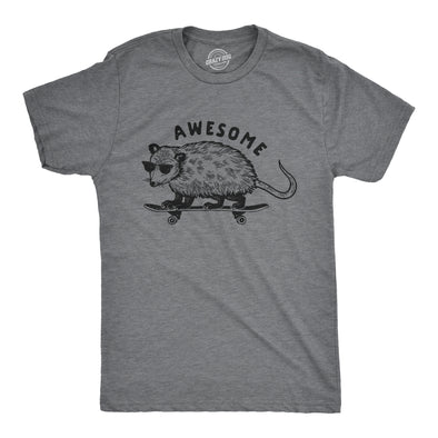 Awesome Opossum Men's Tshirt