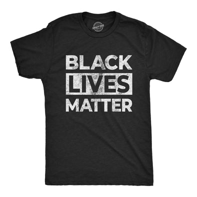 Mens Black Lives Matter Tshirt Protest Equality Anti-Racism BLM Movement Graphic Tee