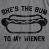 She's The Bun To My Wiener Men's Tshirt