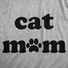 Womens Cat Mom Tshirt Funny Pet Animal Lover Kitty Novelty Tee