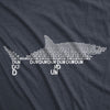 Dun Dun Dun Graphic Shark Text Women's Tshirt