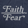 Faith Over Fear Men's Tshirt