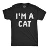 I'm A Cat Men's Tshirt