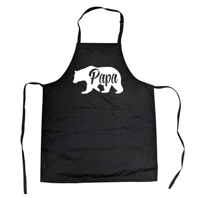 Cookout Apron Papa Bear Grilling Cooking Fathers Day Smock