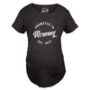 Maternity Promoted To Mommy 2021 Tshirt Funny New Baby Pregnancy Family Graphic Tee