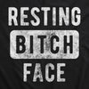 Resting Bitch Face Face Mask Funny Ugly Insult Novelty Graphic Nose And Mouth Covering