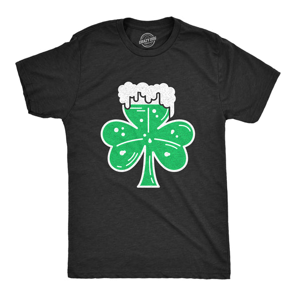 Shamrock Beer Glass Men's Tshirt