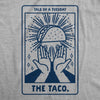 Womens Tale Of A Tuesday Taco Tshirt Funny Taco Tuesday Cinco De Mayo Tarot Card Graphic Tee