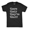 There Their They're Thurr Men's Tshirt