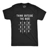 Think Outside The Box Men's Tshirt