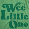 Maternity Wee Little One Tshirt Funny Pregnancy St Patricks Day Leprechaun Tee