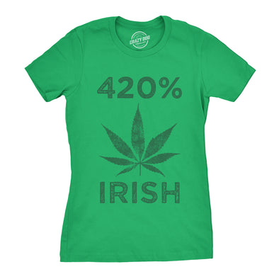 420% Irish Women's Tshirt