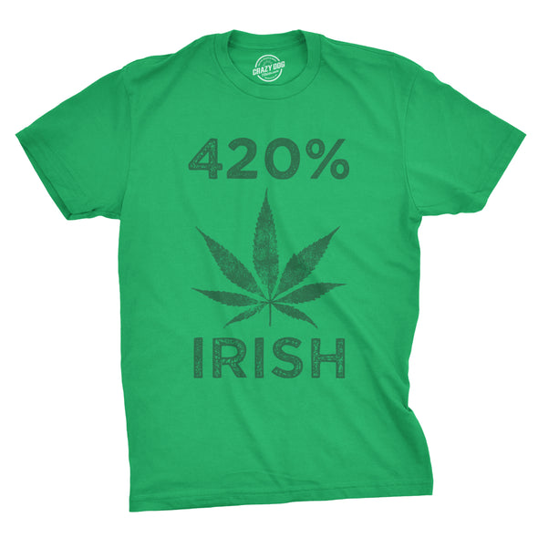 420% Irish Men's Tshirt
