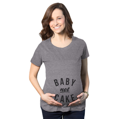 Maternity Baby Not Cake Funny Pregnancy Tees For Pregnant Announcement Funny T shirt