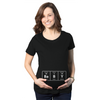 Maternity Baby Element Funny Announcement T Shirt Cool Pregnant Top