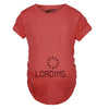 Maternity Baby Loading Shirt Humor Funny Pregnancy Shirts Cheap Tees