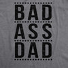 Bad A Dad Men's Tshirt