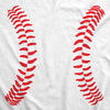Maternity Baseball Laces Pregnancy T Shirt Novelty Sports Baby Bump Tee