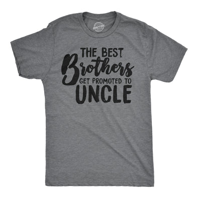 Best Brothers Get Promoted To Uncle Men's Tshirt