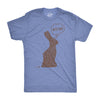 Mens Bite Me Chocolate Easter Bunny T Shirt Funny Chorolate Sassy Hilarious