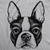 Mens Ask Me About My Boston Terrier Tshirt Funny Dog Owner Flip Up Tee