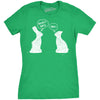 Womens My Butt Hurts T Shirt Funny Easter Egg Chocolate Bunny Sarcastic Gift Tee