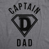 Captain Dad Men's Tshirt
