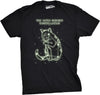 Catus Minorus Constellation Glow In The Dark Men's Tshirt
