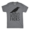 Crows Before Hoes Men's Tshirt