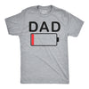 Dad Battery Low Men's Tshirt