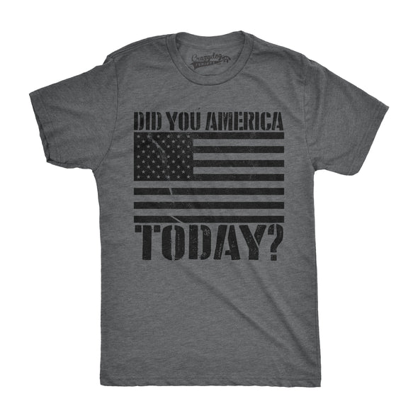 Did You America Today? Men's Tshirt