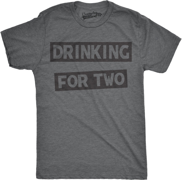 Drinking For Two Men's Tshirt
