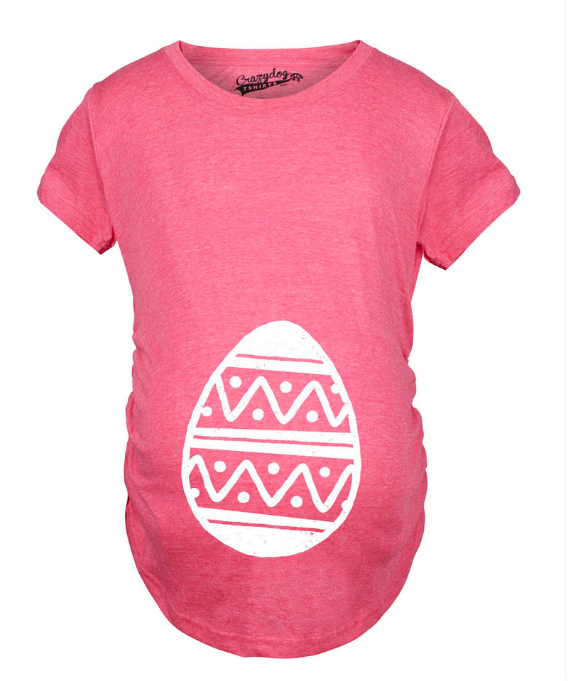 Maternity Easter Egg Baby Bump Tshirt it?s A Girl Pregnancy Announcment Tee