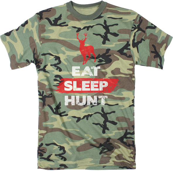 Eat Sleep Hunt Deer Men's Tshirt