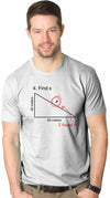 Find X T Shirt Funny Variable Math Test Question Witty Response Tee