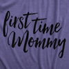 Maternity First Time Mommy Pregnancy T shirt Cute Belly Bump Tee Mother To Be