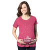 Maternity Force Is Strong Funny Pregnancy T Shirt Graphic For Expecting Mothers